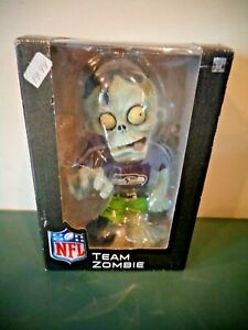 FOREVER COLLECTIBLES NIGHTMARES NFL TEAM ZOMBIE SEATTLE SEAHAWKS