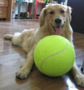 "Giant Tennis Ball 9.5"" Signature Big Tennis Ball for Children Adult Dog"