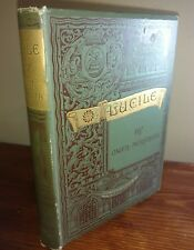 LUCILE BY OWEN MEREDITH 1887 NICE BOOK GUILDED EDGES VICTORIAN