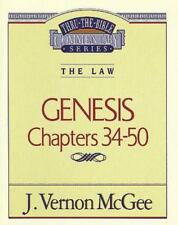 Thru the Bible: Genesis III 3 by J. Vernon McGee (1995, Paperback)