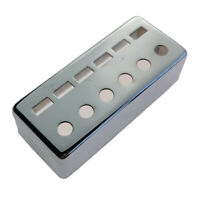 Mini Brass Humbucker Pickup Cover 12 Holes 50mm for Guitar Accs Parts Chrome