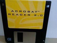 "ITHistory (1994) IBM Software: ACROBAT READER 2.0 (Adobe)   3.5"" (No Manual)"