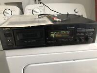 ONKYO Stereo Cassette Tape Deck RI Model TA-620 Made In Japan