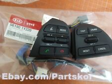 For KIA Picanto 2015 2016 Steering Wheel Remote Control Switch 2EA + Wire 1set