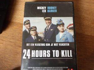 24 hours to kill Lex Barker, Mickey Rooney -Region 2/UK DVD