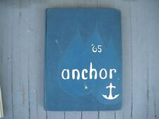 "1965 Francis Hammond High School Yearbook Alexandria,Virginia Va. ""Anchor"""