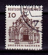 BRD Bund 1965 MiNr. 454 I Plattenfehler geprüft gestempelt Deutsche Bauwerke
