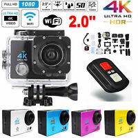 SJ9000 Action Cam 2'' 4K WiFi Digital Kamera Sport Wasserdicht DVR DV 1080P O4W5