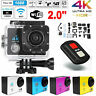 SJ9000 Action Cam 2'' 4K WiFi Digital Kamera Sport Wasserdicht DVR DV 1080P O4W5