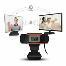 Rotatif 2.0 HD Webcam PC Digital USB Camera Enregistrement video avec microphone