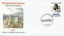 Monaco 2017 FDC HERCULIS Intl Athlétisme Réunion 30th 1 V Set Housse De Sport Timbres