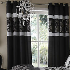 Catherine Lansfield Traditional Living Room Curtains & Blinds