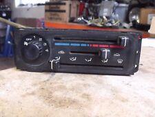 MAZDA MX5 EUNOS / MK1 / 1989 - 1997 / HEATER HEATING CONTROL PANEL UK CAR NO A/C