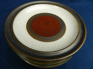 """Denby POTTERS WHEEL 6 1/2"""" Tea Plate Good Condition (up to 6 available)"""