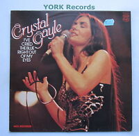 CRYSTAL GAYLE - I've Cried The Blue Right Out Of My Eyes - Ex Con LP Record MFP