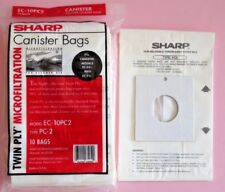 10 Sharp Canister Replacement Vacuum Cleaner Bags Ec-10Pc2 Type Pc-2