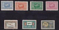 1921-22 Lithuania/Lithuania/Lietuva - Pa N°8/14 7 Values Mlh