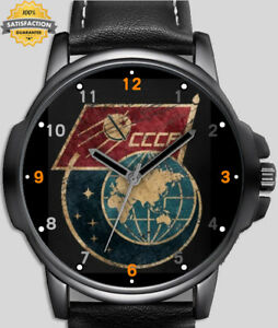 Communist Stalin CCCP Space Retro Art Unique Wrist Watch FAST UK