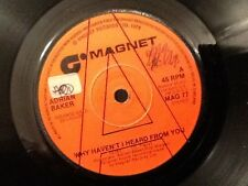 ADRIAN BAKER . WHY HAVEN'T I HEARD FROM YOU . 1978 . RARE , PROMO , DEMO