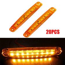 20Pcs 9 SMD LED Truck lights Universal Car Truck Bus Marker Light Waterproof