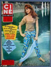 ►CINE REVUE 21/1960-MARIE VERSINI-JAMES STEWART-KARLHEINZ BOHM-MAURICE RONET...