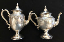 Antique Large Sterling Coffee and Tea Pot by Revere Silver Co