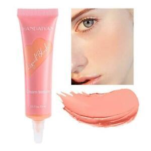Liquid Blush Makeup Natural Rouge Cheek Blusher Cream A Lasting Matte Make I0R1