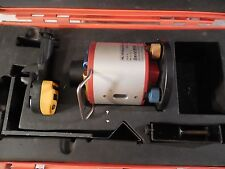 David White ML-100 Rotary Laser Level System w/R6 Pro Shot Rec'r; original case