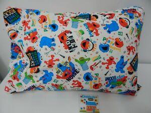 Sesame Street Pillowcase Child Toddler Size 100% Cotton