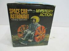 SPACE CAR WITH APOLLO AUSTRONUT NEW IN BOX BATTERY OPERATED WORKS GOOD