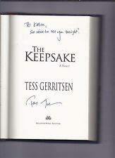 THe Keepsake by Tess Gerritsen Signed Autographed Hardcover Book