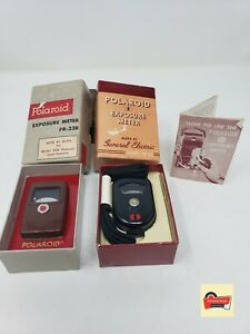 Vintage General Electric Polaroid Exposure Met PR-22&PR-23B with Original Box