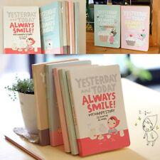 Notebook Cute Girls Agenda Week Plan Diary Day Planner Journal Record.