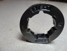 "OEM Stihl 3/8-7 0000-642-1223 Clutch Drum Rim Sprocket 3/8x7 SD7 7/8"" Bore"