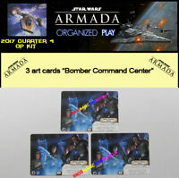 STAR WARS ARMADA 2017 QUART 4 OP KIT - 3 Bomber Command Center - Armada