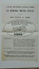 Prospectus Catalogue Brochure Motos DRESCH 1930