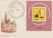 Poland postmark WROCLAW - sport philatelic exhibition Klub TPPR