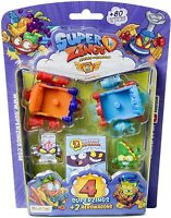 Series 5 Superzings Blister 4 Figure & 2 Aerowagon Original Magic Box Super