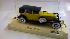 SOLIDO 1:43 DIE CAST AUTO CORD L 29 1929 GIALLO SENAPE