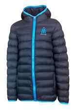 BOYS 14 Years OLYMPIQUE MARSEILLE Padded Puffa Jacket Hooded Football Coat wo