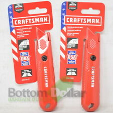 Craftsman CMHT10377 Fixed Blade Utility Knife (2 Pack)
