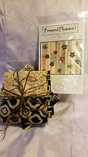 Quilt Kit Pressed Flowers Pattern by A Quilter's Dream-Batik Fabric by Maywood