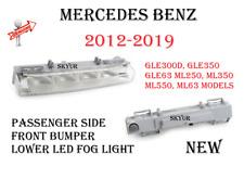 Passenger Side Front Bumper Lower Led Fog Light For Mercedes ML250 ML350 GLE350