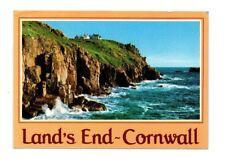 Cornwall - Lands End - Postcard Franked 1987