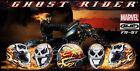 Casco integrale moto Hjc Fg-st Ghost Rider Marvel
