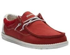 Hey Dude Men's Wally Flow Pompeian Red