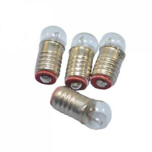Dolls House Replacement Spare Pea Bulbs Screw in 12V 50MA Lighting Accessory