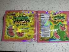 "25CT ""Watermelon"" Stoner Patch Food Snack Ziplock Bags"