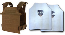 Level IIIA+ 3A+ Body Armor FLAT | ArmorCore | Bullet Proof Vest Sentry Coyote