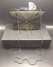 Tonya Hawkes Limited Edition Authentic Hand Made Black Shoulder Bag Purse